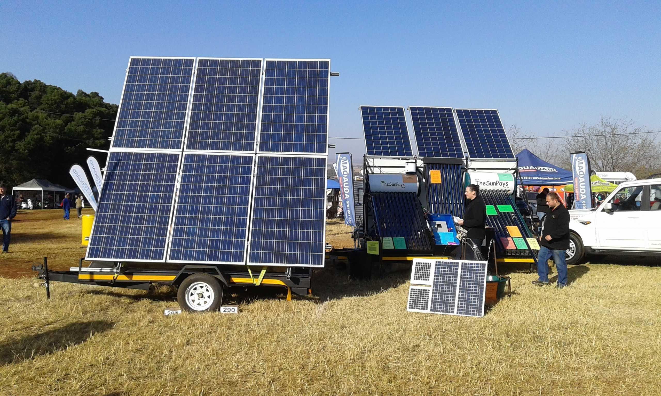 DC brushless solar pump