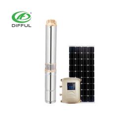 厂家直销24V/48V水泵 3寸太阳能直流水泵 变频水泵 太阳能灌溉潜水泵 农用太阳泵