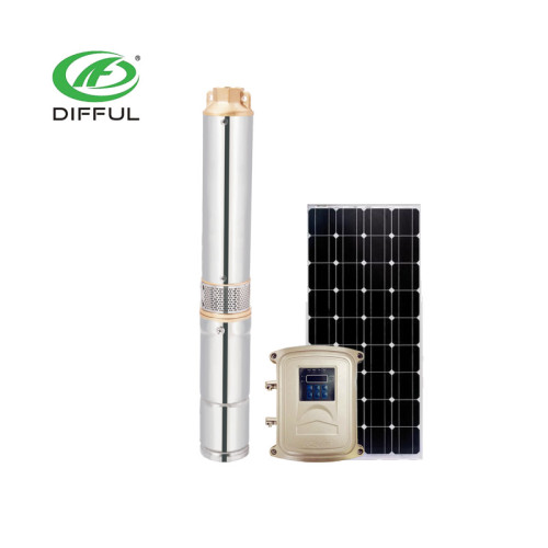 外贸出口 48V水泵 DC pump 4寸光伏直流水泵 太阳能深井潜水泵