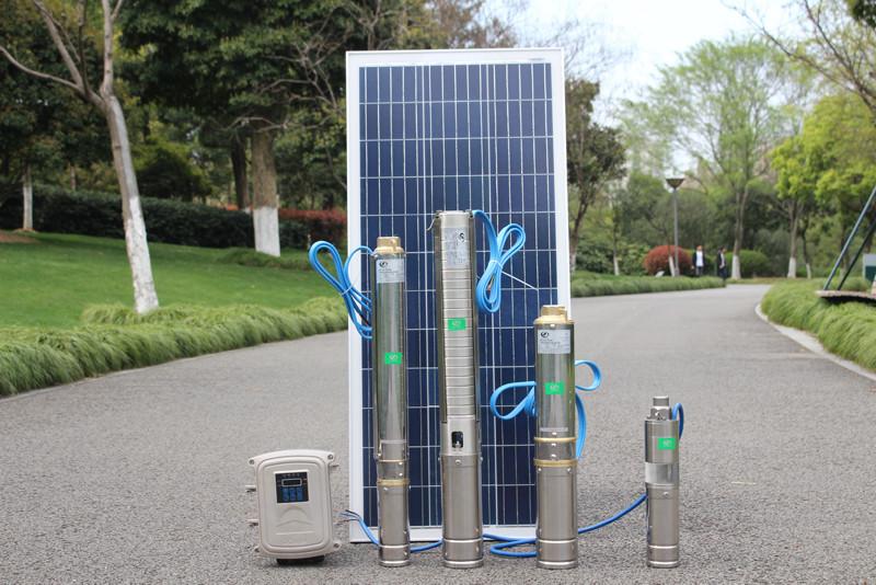 4 inch solar powered pump