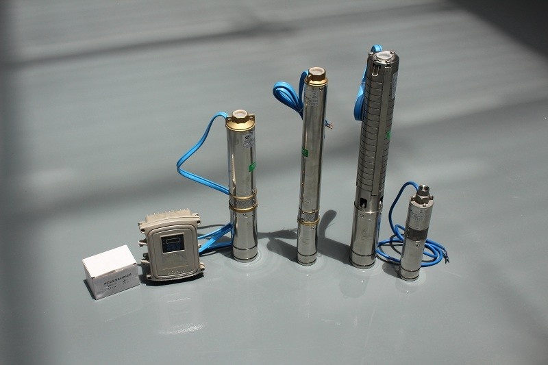 solar submersible pump/solar deep well pump
