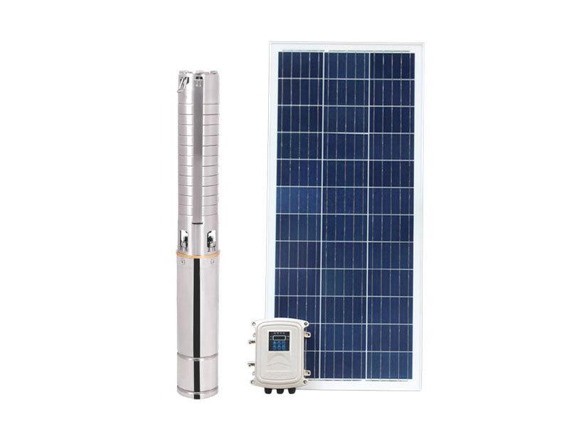 Bomba sumergible solar de acero inoxidable