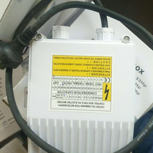 1hp مضخة نزح المياه العميقة 220V مغمورة جيدا للري