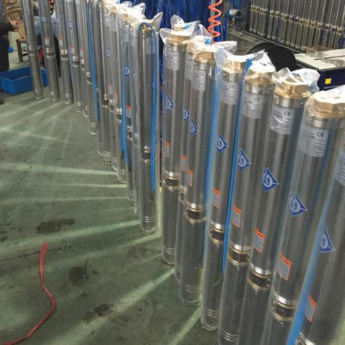 البئر الكهربائية مضخة مياه مرحلة واحدة بئر عميق مضخة 1.5 hp متعددة المراحل مضخة جيدا