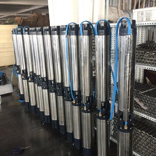 المضخة الغاطسة ذات السلاسل SRH 5.5hp لأنظمة مضخات الآبار العميقة بالري أستراليا