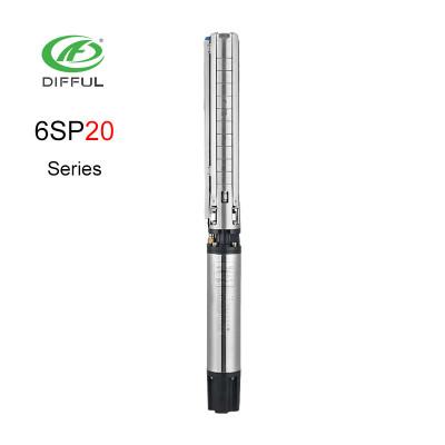 380V 12.5hp مضخة كهربائية AC مضخة المياه غاطسة لمضخة مضخة الري جيدا
