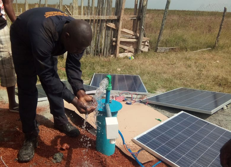 SOLAR PUMP FROM KENYA 3