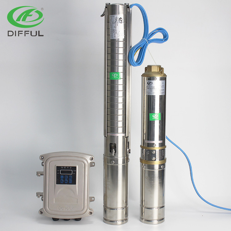 DIFFUL solar submersible pump