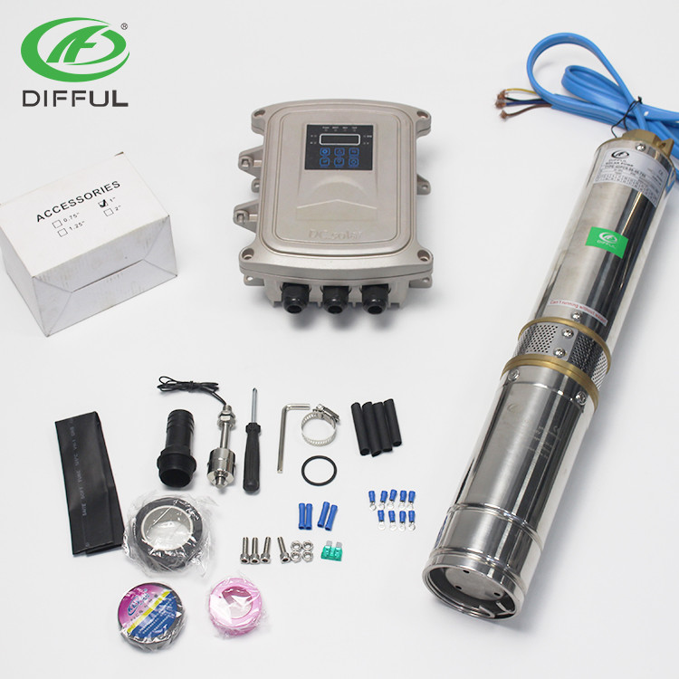 pompe submersible solaire difful