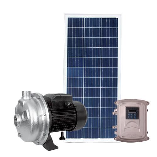 مضخة سطح الطرد المركزي مع الطاقة الشمسية DC 72V المحلية المضخة الشمسية