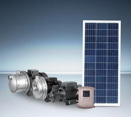 Pompes solaires de surface
