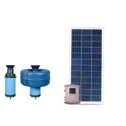 DC solar water spray aerator for irrigation solar fish pond aeration pump manufacturers