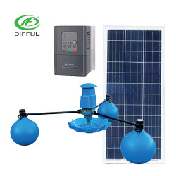 AC/DC solar impeller aerator solar fish pond pump for sale solar pump price