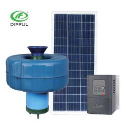 AC/DC brushless solar  pond aerator for irrigation fish pond aeration pump floating pump