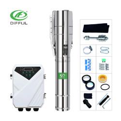 4/6 Zoll 1500W DC Solar-Tauchpumpe mit Edelstahl-Laufrad für Bewässerungspreis