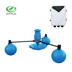 DC solar air aerator farm pond pump aerators for aquaculture solar pump supplier