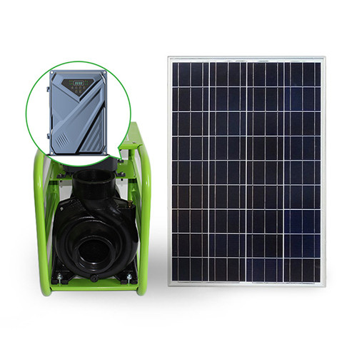 AC/DC high-power surface pump with solar power