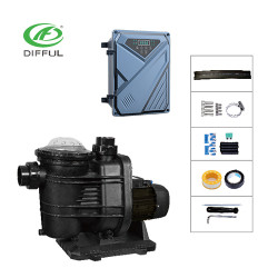 AC/DC solar pool pump 1200W solar powered pump price for swimming pool solar pump manufacturer