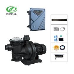 AC/DC Hybrid solar pool pump 900W solar powered swimming pool pump manufacturer