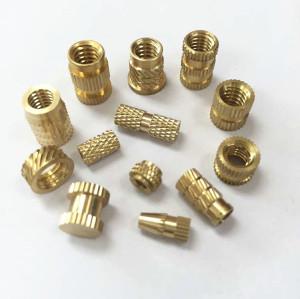 Custom Made Brass Threaded Insert,Brass Barrel Nuts For Plastic