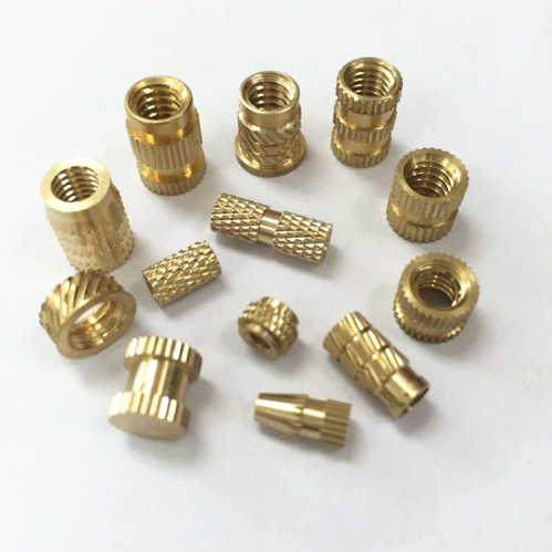 Custom Made Brass Threaded Insert,Brass Barrel Nuts For