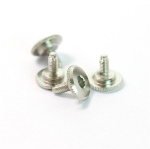 Custom Stainless Steel M5 Knurled Head Camera Screws