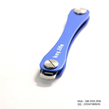 KeySmart钥匙扣 钥匙收纳器 Key Smart创意礼品 航空铝钥匙夹  高端不锈钢配件