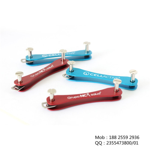 创意公母钉款钥匙收纳夹  keysmart促销礼品18825592936