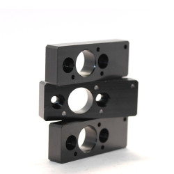 Customized Lathe Machining Black Anodizing Cnc Aluminum Parts