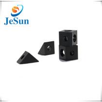 Custom Black Anodized Aluminum Machined  Parts