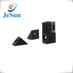 Custom Black Anodized Aluminum Machined  Parts