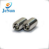 Stainless Steel Embossing Slotted Set Screws with Cone