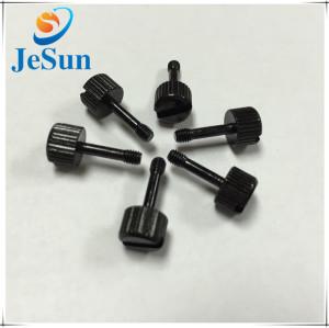 Factory Slot Head Black Nylon Screw
