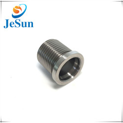 Cnc Turning Stainless Steel Inside and Outside Thread Nuts
