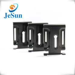 CNC Spare Parts Black Anozied CNC Aluminum Parts