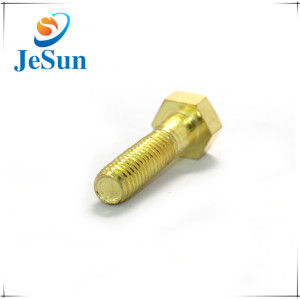 Hex Head Custom Brass Machine Screw