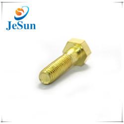 Hex Head Custom Brass Machine Screw