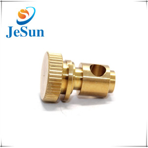 High Precision CNC Brass Parts Thread Brass machining parts