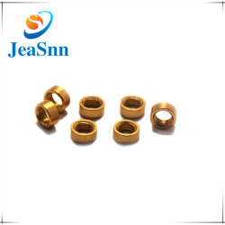 Custom Cnc Machined Round Brass Nuts