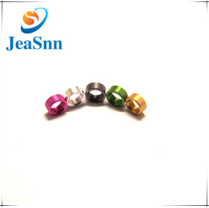 Round Nuts Plated Colorful Zinc