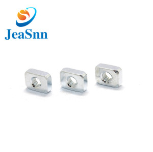 Customized  Nickel Plating Square Nuts-JeaSnn