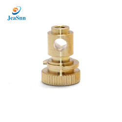 High Precision Custom Made CNC Brass Lathe Turning Machine Mechanical Parts Brass Turning Parts Factory