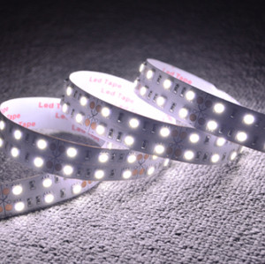 High Brightness 12V LED Flexible Strip Lights Double Row