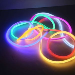 Green Lighting and Easy Installation 220V Round-Emitting Led neon flexible strip lights