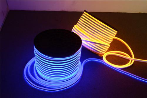 Green Lighting and Easy Installation 220V Round-Emitting Led neon flexible strip lights