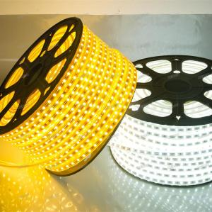 Customized SMD5050 Warmwhite or White 60leds/m 220V Led Strip Lights