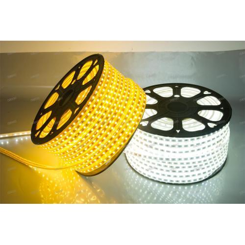 Customized SMD5050 Warmwhite or White 60leds/m 220V Led Strip Lights