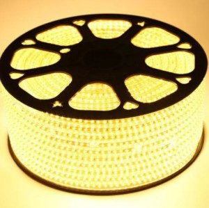 Brightness High Lumen  SMD5050 White and Warmwhite 60leds/m 220V Led Strip Lights