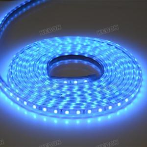 Different Single Color SMD5050  60leds/m 220V Led Strip Lights with CE, RoHS Certificates