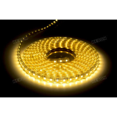 Indoor and Outdoor Decoration SMD5050  60leds/m 220V Led Flexible Strip Lights with CE, RoHS Certificates